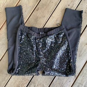 Shein Sequin High Waisted Pants
